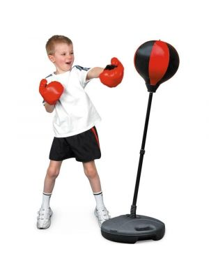 Toyrific Training Punch Ball with Gloves & Stand for Kids 72-108cm