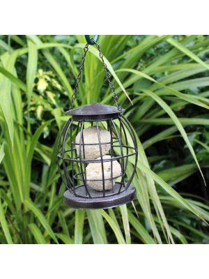 Kingfisher Mini Caged Fat ball Feeder