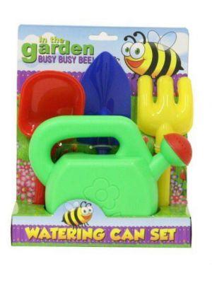 Kids Toy Gardening Play Set Watering Can Set