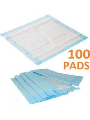 100 60X40 cm Large Puppy Training Pads Pee Wee Mats Dog Cat