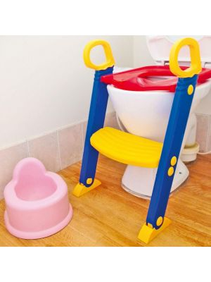 Baby Toilet Training Seat with Safety Ladder