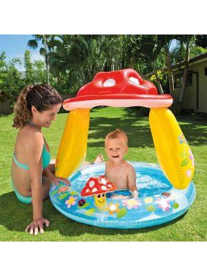 Intex Mushroom Baby Pool for Ages 1-3, 40 x 35