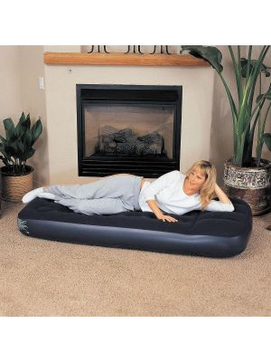 Bestway 73 x 30 x 8.5-inch Easy Inflate Flocked Single Air Bed