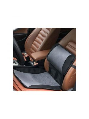 Car cooling lumbar back support pillow & seat cushion office chair home comfort
