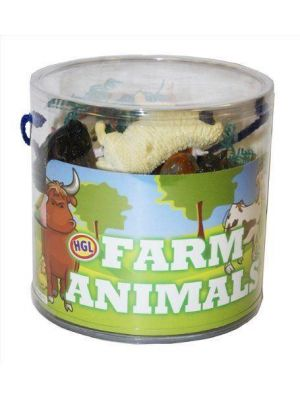 Plastic Farm Animals Model Kids Toys Indoor/Outdoor Play