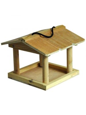 Kingfisher Wooden Hanging Bird Table