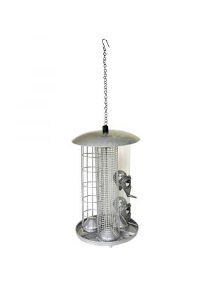 Kingfisher 3 in 1 Suet Fat Ball Seed and Nut Feeder