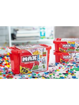 Kids 759 Pieces Building Bricks Value Set in Storage Box Aged 3+ FAST DELIVERY