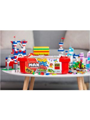 Kids Construction 253 Building Bricks Value Set Comes with Storage Tube