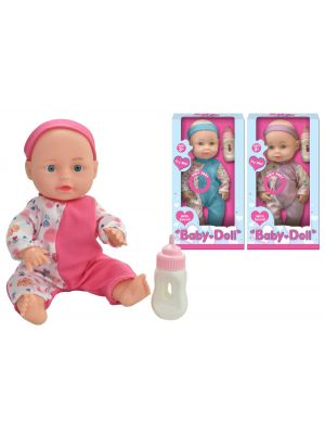 Baby Doll with Sounds and Feeding Bottle 10