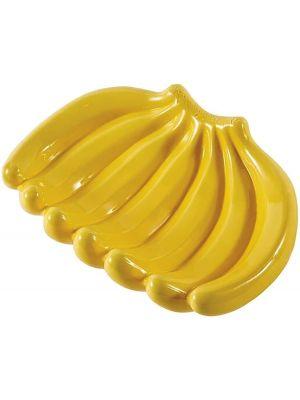Ceramic Banana Serving Dish Fruit Bowl Holder Stand Decorative Plate Yellow